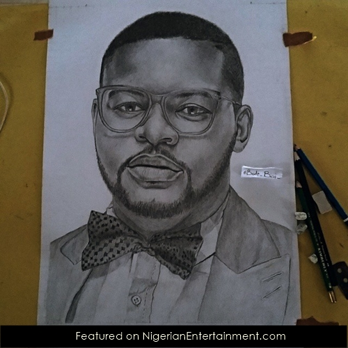 Pencil portrait artist eguavoen imuetiyan the works of a self taught artist nigerian entertainment official